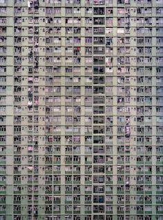 Las fachadas de Hong Kong, imponentes