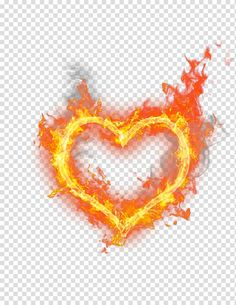 Heart With Fire Heart Fire Flame Heart Shaped Fire Transparent Background Png Clipart In 2021 Love Png Neon Png Fire Icons