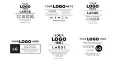 Tag Design, Label Design, Packaging Design Inspiration, Graphic Design Inspiration, T Shirt Label, Label Tag, Logo Branding, Branding Design, Mode Collage