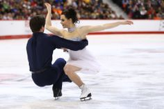 Tessa Virtue and Scott Moir- Ice Dance Gold at Canadian Nationals.