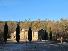Imagen invernal de Can Bonet turismo rural, Sant Martí Vell, Girona Costa, Painting, Painting Art, Paintings, Painted Canvas, Drawings