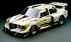 Roy Lichtenstein painted the Art Car in his signature comic-book style   BMW