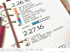 PTI Moments Inked - Bullet Journal -