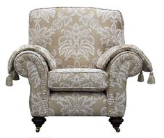 Capella Chair with Arm Pads - Milan Fabric [Gold Collection] Sofas And Chairs, Furniture, Bespoke Sofas, Chair, Sofas, Sofa Chair, Wingback Chair, Accent Chairs, Home Decor