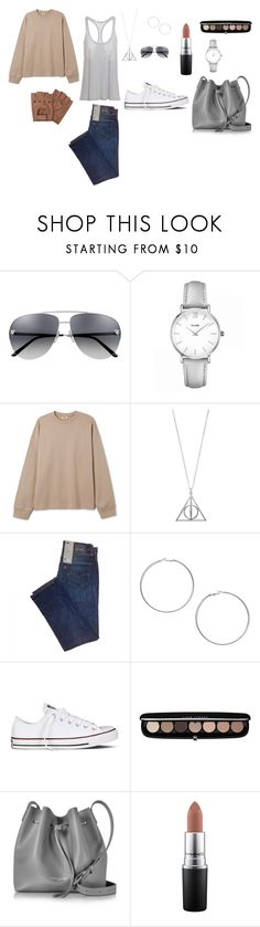 """""""summer casual for walk with friends"""" by explorer-15040930178 on Polyvore featuring мода, CLUSE, Miss Selfridge, Converse, Marc Jacobs, Lancaster и MAC Cosmetics"""