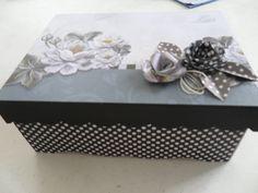 Caixa em MDF decoração ScrapDecor.