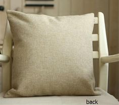 Blank Cotton Linen Cushion Cover in 45cm*45cm