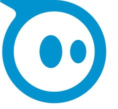The adorable logo Orbotix uses to market its fast-paced robots, Sphero and…