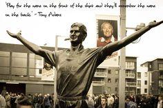 Tony Adams. Arsenal Legend.
