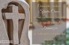 """""""Oriunde vedem Sfânta Cruce, să ne aducem aminte cât de mult ne iubește Dumnezeu și așteaptă răspunsul nostru"""" #PatriarhulDaniel #Cruce #SfantaCruce #Dumnezeu #Iubire"""