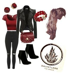 """Dauntless Casual"" by jules2k15 on Polyvore featuring Topshop, ALDO, Chloé, Lauren Ralph Lauren and T+C by Theodora & Callum"