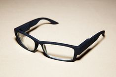 This web-connected eyewear system functions like Glass, but looks like, well, just plain old glasses.