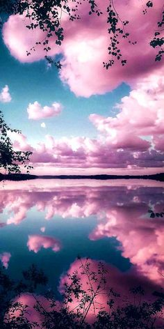 Reflecting pink sky Wallpaper by Goodfellagrl - - Free on ZEDGE™ now. Browse millions of popular clouds Wallpapers and Ringtones on Zedge and personalize your phone to suit you. Browse our content now and free your phone Pink Clouds Wallpaper, Sunset Wallpaper, Iphone Background Wallpaper, Landscape Wallpaper, Tumblr Wallpaper, Colorful Wallpaper, Galaxy Wallpaper, Mobile Wallpaper, Wallpaper Wallpapers