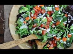 The BEST #vegan Tahini salad dressing! Full recipe: http://www.vegan.com/videos/tahini-dressing/