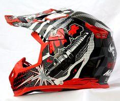 Masei 315 M Plus Motocross ATV DOT Dirtbike Helmet RED M L XL XXL