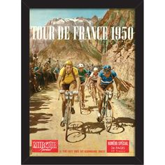Tour de France 1950 Print