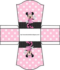 Cajitas de Minnie para imprimir y armar | Todo Peques