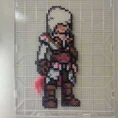 Ezio Assassin's Creed perler beads by phonmunky