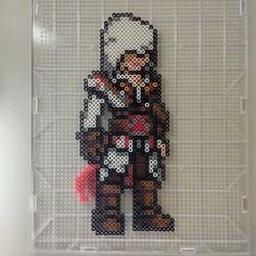 Ezio Assassin's Creed perler beads by phonmunky