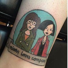 Daria tattoo