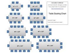Charmant Table Sizes And Seating   Google Search