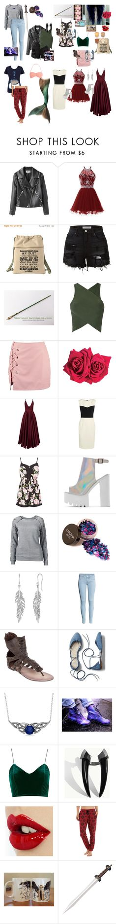 """""""Item 12 of collections"""" by haileyscomet95 ❤ liked on Polyvore featuring Acne Studios, LE3NO, EGREY, Boohoo, Avon, La Mania, Narciso Rodriguez, Venus, Pusheen and Pieces"""