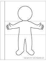 Projekt Das bin ich und mein Koerper Kindergarten und Kita