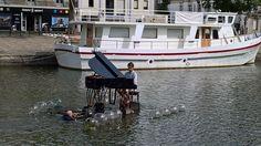 Un piano sur l'eau! Ile de Versailles, Nantes