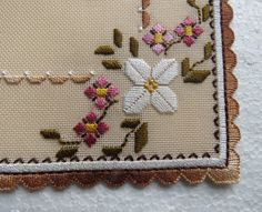 23 februari 2014 - Gunilla Martensson - Álbuns da web do Picasa Hardanger Embroidery, Paper Embroidery, Learn Embroidery, Hand Embroidery Stitches, Hand Embroidery Designs, Embroidery Patterns, Cross Stitch Patterns, Linen Placemats, Crochet Doily Patterns
