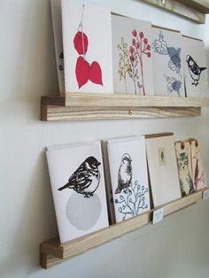 Card Display: Solution Roundup via www.craftstorageideas.com