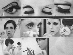 Vintage eye makeup tutorial with Peggy Moffitt