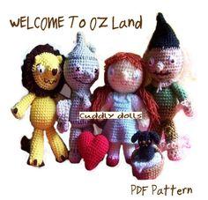 Amigurumi Crochet Dolls PDF PatternFrom The by cuddlydolls on Etsy, $19.00