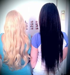 Long hair extensions for a wedding, from Hot Stuff Beauty www.hotstuffbeauty.com.au
