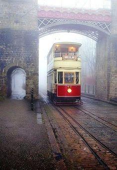 Foggy Tramway, Derbyshire - England
