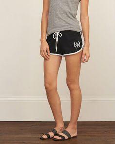Logo Graphic Fleece Shorts