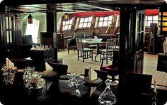 HMS Victory captains quarters - dining room inspiration