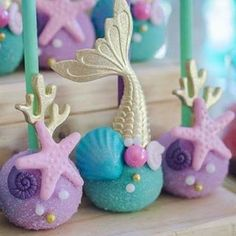 15 Ideas for baby shower girl cupcakes cake birthday parties Mermaid Birthday Cakes, Cupcake Birthday Cake, Little Mermaid Birthday, Little Mermaid Parties, Birthday Cake Girls, The Little Mermaid, Cupcake Cakes, Birthday Ideas, Birthday Parties