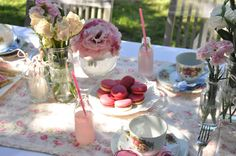 vintage spring birthday tea party | events + design: real parties