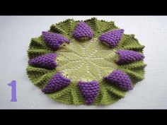 Learn how to make this gorgeous Vine Budding of crochet grapes to make any meal more delicious and beautiful. Hi, my beautiful crochet friends and seamstresses, it's a lovely afternoon to do …