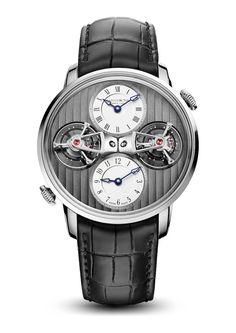 Arnold & Son DTE Double Tourbillon Escapement Dual Time Watch For 2015