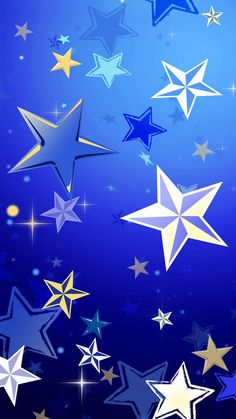 Lots Of Star Pattern Background iPhone 6 wallpaper
