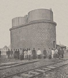 Hejaz Railway, Water Tank in Daraa, Syria, 1903