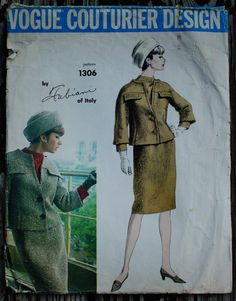 Vogue Couturier Design 1306 Fabiani of Italy by EleanorMeriwether