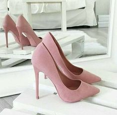 1d89e45d3e27 Rosa High Heels, Pink High Heels, Pretty Shoes, Beautiful Shoes, Cute Shoes