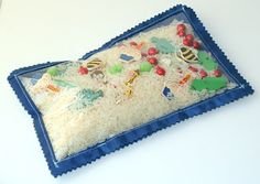 Eye spy bags...for kin to keep entertained  and quiet at upcoming weddings