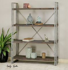 (http://www.zinhome.com/greeley-industrial-metal-and-wood-bookcase/)