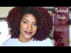 How To achieve A Bomb Wash N' Go [Video] - Black Hair Information