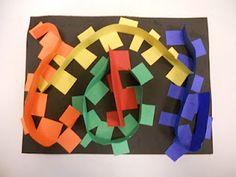 Line 3-D art