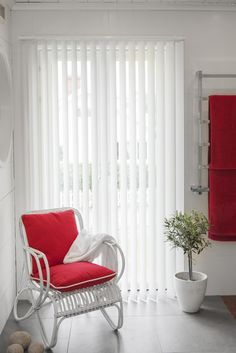 Vertical blinds from fabrics offer a range of qualities as well as decor and color options. Install vertical blinds and Keep sun rays outside the room. Click on the above image to see the collection of vertical blinds.