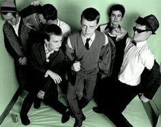 Madness and the ska movement - what a cool front man.